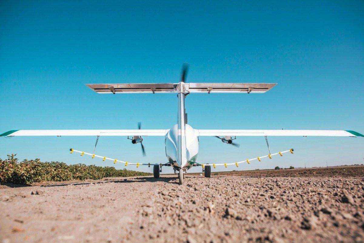 Elektrikli ve Otonom İlaçlama Uçakları Üreten Firma : Pyka